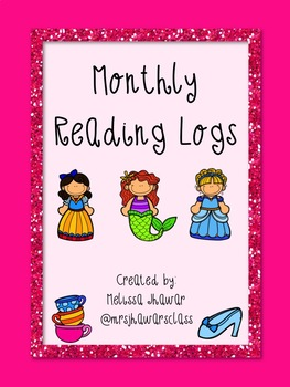 Monthly Reading Logs - Storybook Theme