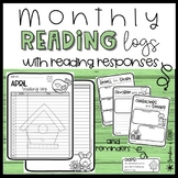 Monthly Reading Logs and Reading Response Templates