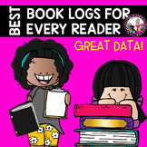 Reading Logs for Every Learner! MONTHLY!  Levels A and Beyond!