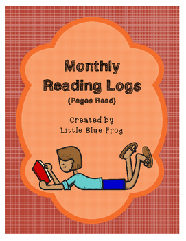 Monthly Reading Logs (pages read)