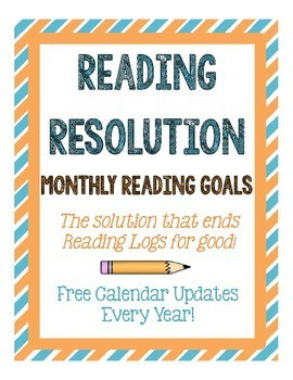Monthly Reading Resolution: No More Reading Logs!