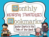 Monthly Reading Strategies Bookmarks {Anchor Charts in the Palm of Your Hand}