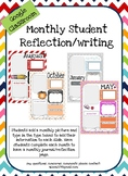 Monthly Reflection Google Classroom/Google Slides