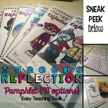 Monthly Reflection Pamphlets for the Whole Year (98 total)
