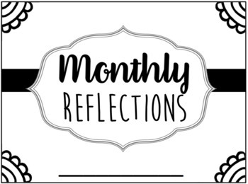 Monthly Reflections