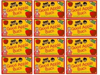 Monthly Reward Bucks Class Dollars Behavior Management BUNDLE 10 styles