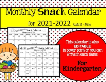 Snack Schedule Template from ecdn.teacherspayteachers.com