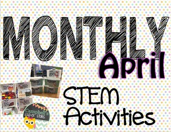 Monthly STEM Challenge ||April||