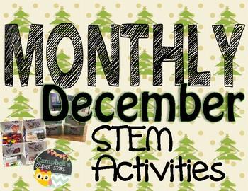 Monthly STEM Challenge ||December||