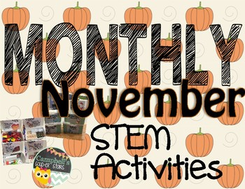 Monthly STEM Challenge ||November||