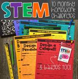 Monthly STEM Homework Challenges