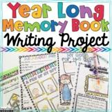Memory Book Scrapbook Year Long Writing Project
