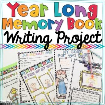 Year Long Memory Book Scrapbook Bundle
