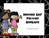 Monthly Self Portrait Booklets