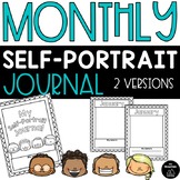 Monthly Self-Portrait Journal