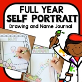 Monthly Self Portrait Journal for Preschool and Kindergarten