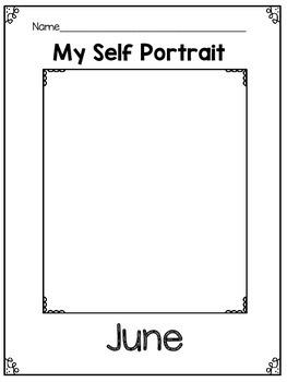 Monthly Self Portraits