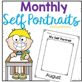 Monthly Self Portraits for Back to School