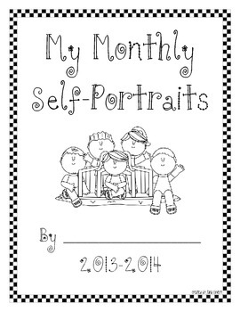 Monthly Self Portraits 2013-2014