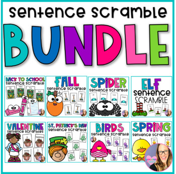 Monthly Sentence Scrambles the BUNDLE
