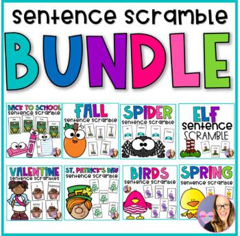 Monthly Sentence Scrambles the BUNDLE