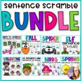 Monthly Sentence Scrambles the BUNDLE #bundlebonanza