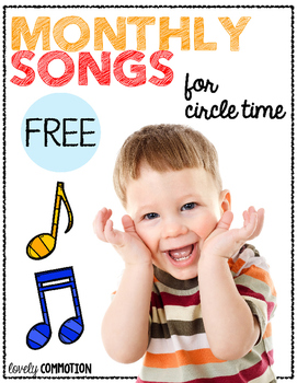 Monthly Songs for Circle Time
