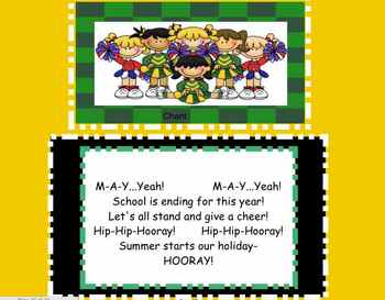 Monthly Songs for the SMARTboard