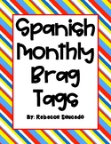 Monthly Spanish Brag Tag