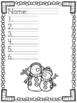 Monthly Spelling Test Papers