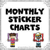 Monthly Sticker Charts for Easy Measurement of Speech Attendance