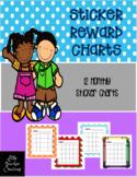 Monthly Sticker Reward Charts