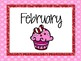 Monthly Storage Labels - Glitter Polka Dots
