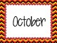 Monthly Storage Labels - Mickey Mouse Theme