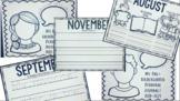 Pre-Kindergarten Monthly Student Reflection Journals!
