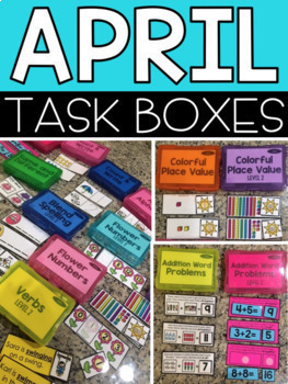 Monthly Task Boxes