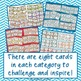 Monthly Task Card Choice Boards for Fast Finishers Year Long Bundle