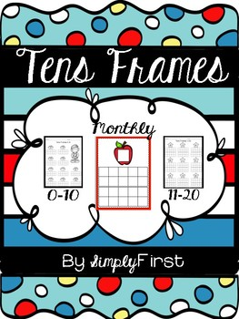 Monthly Tens Frames
