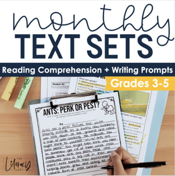 Monthly Text Sets (Bundle) INTRODUCTORY PRICE