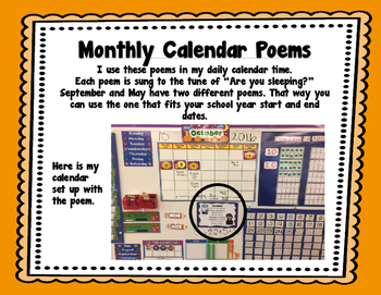 Monthly Thematic Poems/Chants