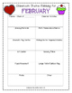 Monthly Theme Planning Template