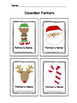 Monthly Themed Cooperative Learning Partner Cards