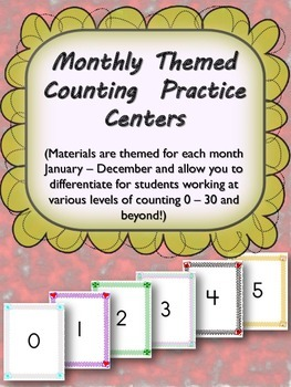 Monthly Themed Counting Centers