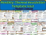 Monthly-Themed Newsletter Template Unit