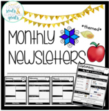 Monthly Themed Newsletters for Special Education