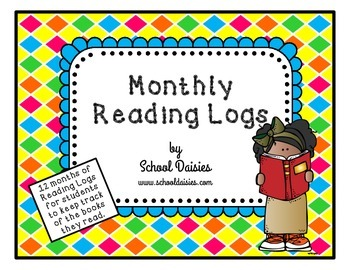 Monthly Themed Reading Logs