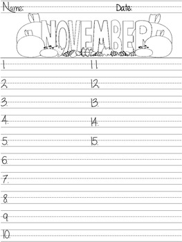 Monthly Themed Spelling Tests Templates/Coloring Page Spelling Tests