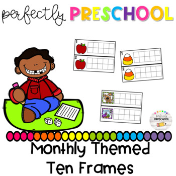 Monthly Themed Ten Frames