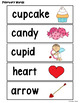 Monthly Themed Vocabulary: February Word Wall and Booklet
