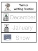 Monthly Themed Writing Practice